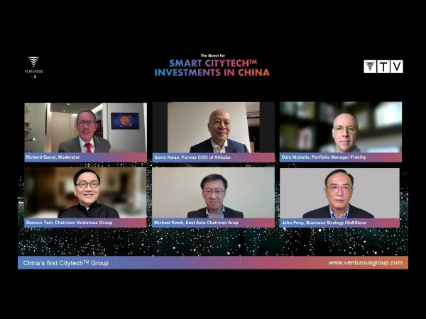 """""""Smart Citytech is the biggest opportunity of our generation"""": Expert panel discusses investments, sustainability and future-proof cities"""